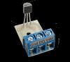"""Czujnik temperatury DS18B20 (1-Wire) z zaciskiem do przewodów (""""prosty"""")"""