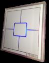 UNIWERSALNY wyłącznik dotykowy 5 polowy  Sterbox biały