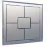 UNIWERSALNY wyłącznik dotykowy 5 polowy  Sterbox srebrno-szary